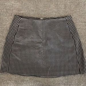 Urban Outfitters Gingham Skirt